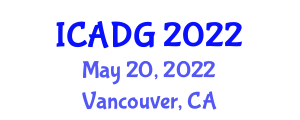 International Conference on Applied Digital Geography (ICADG) May 20, 2022 - Vancouver, Canada
