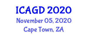 International Conference on Applied Geography and Development (ICAGD) November 05, 2020 - Cape Town, South Africa