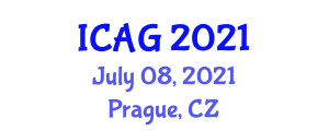 International Conference on Applied Geography (ICAG) July 08, 2021 - Prague, Czechia