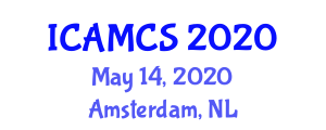 International Conference on Applied Mathematics and Computer Sciences (ICAMCS) May 14, 2020 - Amsterdam, Netherlands