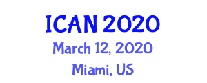 International Conference on Applied Nursing (ICAN) March 12, 2020 - Miami, United States