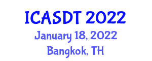 International Conference on Applied Seismology and Dynamic Tectonics (ICASDT) January 18, 2022 - Bangkok, Thailand