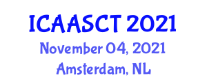 International Conference on Architectural Acoustics and Sound Control Technologies (ICAASCT) November 04, 2021 - Amsterdam, Netherlands