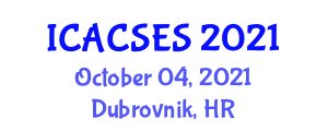International Conference on Architecture, Computer Systems and Embedded Systems (ICACSES) October 04, 2021 - Dubrovnik, Croatia