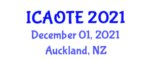 International Conference on Artificial Organ and Tissue Engineering (ICAOTE) December 01, 2021 - Auckland, New Zealand