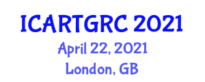 International Conference on Assistive Robotics Technologies and Human-Robot Collaboration (ICARTGRC) April 22, 2021 - London, United Kingdom
