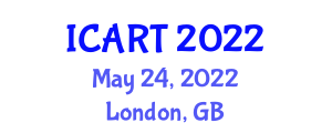 International Conference on Assistive Robotics Technologies (ICART) May 24, 2022 - London, United Kingdom