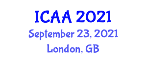 International Conference on Astrophysics and Astroparticles (ICAA) September 23, 2021 - London, United Kingdom