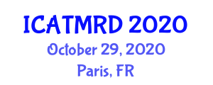 International Conference on Atmospheric Thermodynamics and Main Research Directions (ICATMRD) October 29, 2020 - Paris, France