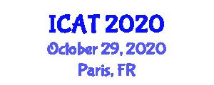 International Conference on Atomic Tourism (ICAT) October 29, 2020 - Paris, France