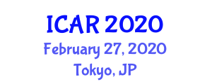 International Conference on Autism Research (ICAR) February 27, 2020 - Tokyo, Japan