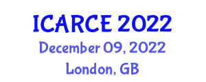 International Conference on Automation and Robotics in Civil Engineering (ICARCE) December 09, 2022 - London, United Kingdom