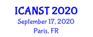 International Conference on Automotive Navigation Systems and Technologies (ICANST) September 17, 2020 - Paris, France