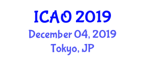 International Conference on Aviation Operations (ICAO) December 04, 2019 - Tokyo, Japan
