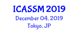 International Conference on Aviation Security and Security Mechanisms (ICASSM) December 04, 2019 - Tokyo, Japan