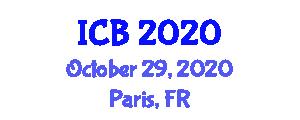 International Conference on Bacteriology (ICB) October 29, 2020 - Paris, France