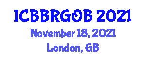 International Conference on Behavior-Based Robotics and Goal-Oriented Behaviors (ICBBRGOB) November 18, 2021 - London, United Kingdom