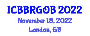International Conference on Behavior-Based Robotics and Goal-Oriented Behaviors (ICBBRGOB) November 18, 2022 - London, United Kingdom