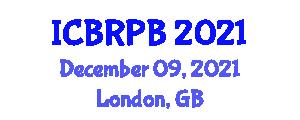 International Conference on Behavioral Robotics and Perceptual Behaviors (ICBRPB) December 09, 2021 - London, United Kingdom