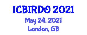International Conference on Bio-Inspired Robotics and Dynamic Optimization (ICBIRDO) May 24, 2021 - London, United Kingdom