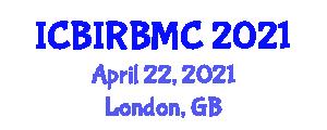 International Conference on Bio-Inspired Robotics, Behavioral and Morphological Classification (ICBIRBMC) April 22, 2021 - London, United Kingdom
