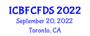 International Conference on Bioactive Food Components, Food Design and Safety (ICBFCFDS) September 20, 2022 - Toronto, Canada