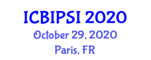 International Conference on Biocomposite Inks for 3D Printing and Solid Inks (ICBIPSI) October 29, 2020 - Paris, France