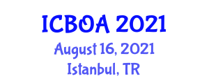 International Conference on Biofertilizers and Organic Agriculture (ICBOA) August 16, 2021 - Istanbul, Turkey