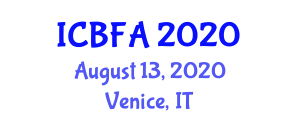 International Conference on Biofuels and Food Availability (ICBFA) August 13, 2020 - Venice, Italy