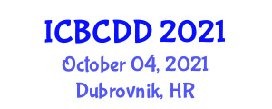 International Conference on Bioinorganic Chemistry and Drug Design (ICBCDD) October 04, 2021 - Dubrovnik, Croatia
