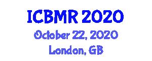 International Conference on Biomechanics, Mechatronics and Robotics (ICBMR) October 22, 2020 - London, United Kingdom
