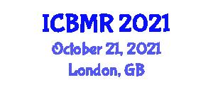 International Conference on Biomechanics, Mechatronics and Robotics (ICBMR) October 21, 2021 - London, United Kingdom