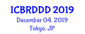 International Conference on Biomedical Research for Drug Design and Discovery (ICBRDDD) December 04, 2019 - Tokyo, Japan