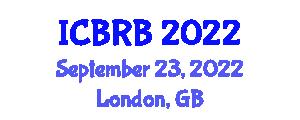 International Conference on Biomedical Robotics and Biomechanics (ICBRB) September 23, 2022 - London, United Kingdom