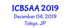 International Conference on Biomedical Signal Analysis and Applications (ICBSAA) December 04, 2019 - Tokyo, Japan