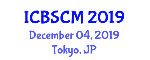 International Conference on Biomedical System Control and Modelling (ICBSCM) December 04, 2019 - Tokyo, Japan