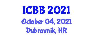 International Conference on Bionomics and Behavior (ICBB) October 04, 2021 - Dubrovnik, Croatia