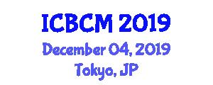 International Conference on Bioorganometallic Chemistry and Mechanisms (ICBCM) December 04, 2019 - Tokyo, Japan