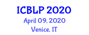 International Conference on Biotechnology for Livestock Production (ICBLP) April 09, 2020 - Venice, Italy