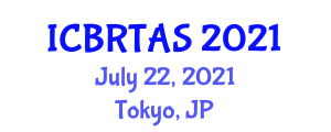 International Conference on Biotechnology Related Techniques in Animal Science (ICBRTAS) July 22, 2021 - Tokyo, Japan