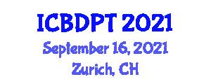 International Conference on Bipolar Disorder and Psychosocial Treatment (ICBDPT) September 16, 2021 - Zurich, Switzerland