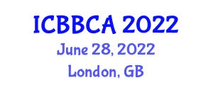 International Conference on Body Borne Computers and Applications (ICBBCA) June 28, 2022 - London, United Kingdom