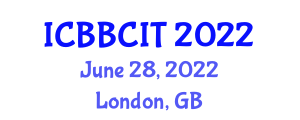 International Conference on Body Borne Computers and Innovative Textiles (ICBBCIT) June 28, 2022 - London, United Kingdom