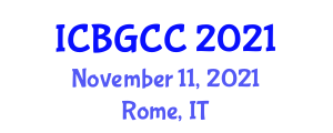 International Conference on Botanical Geography and Climatic Classification (ICBGCC) November 11, 2021 - Rome, Italy