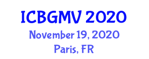 International Conference on Botanical Geography and Marine Vegetation (ICBGMV) November 19, 2020 - Paris, France