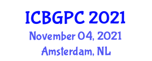 International Conference on Botanical Geography and Plant Communities (ICBGPC) November 04, 2021 - Amsterdam, Netherlands