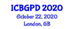 International Conference on Botanical Geography and Plant Distribution (ICBGPD) October 22, 2020 - London, United Kingdom