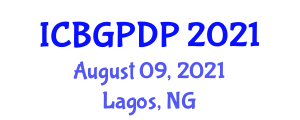 International Conference on Botanical Geography and Plant Distribution Patterns (ICBGPDP) August 09, 2021 - Lagos, Nigeria