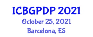 International Conference on Botanical Geography and Plant Distribution Patterns (ICBGPDP) October 25, 2021 - Barcelona, Spain