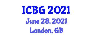 International Conference on Botanical Geography (ICBG) June 28, 2021 - London, United Kingdom
